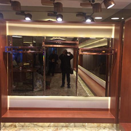 Aynalı Panel Sistem Askılık